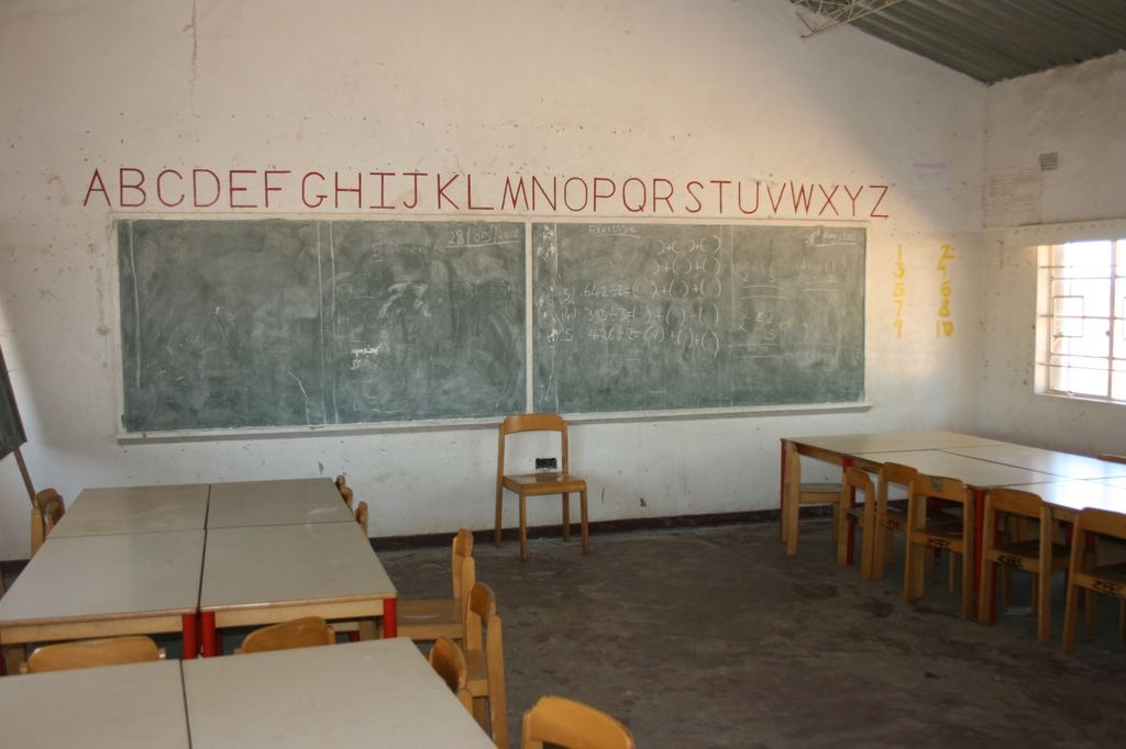 Classroom furniture donated by EEB1