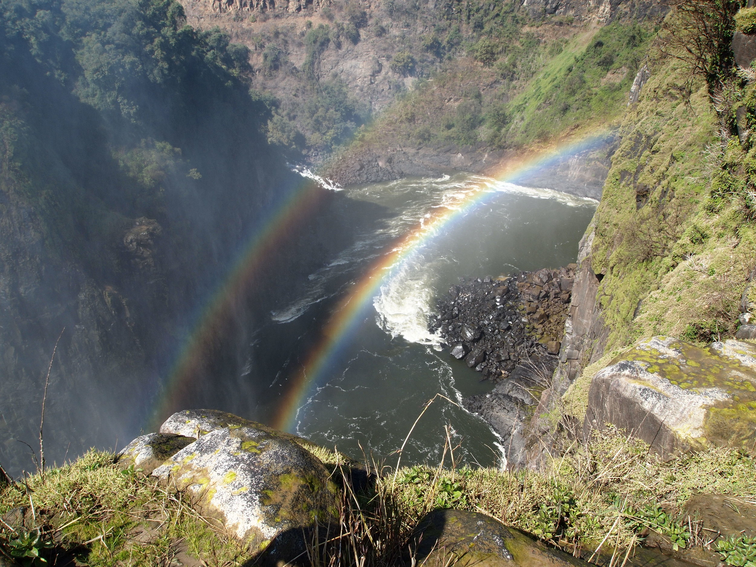 Victoria Falls in the dry seasons