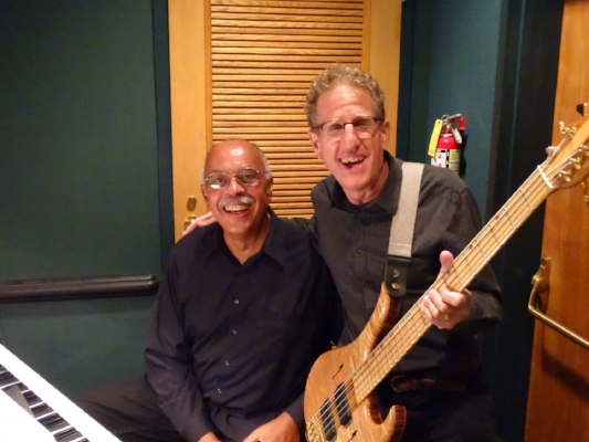 Music Director Glenn Pearson and bass player John Nazdin.JPG