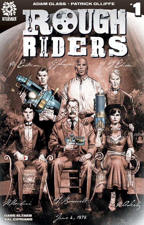 Rough Riders Comic