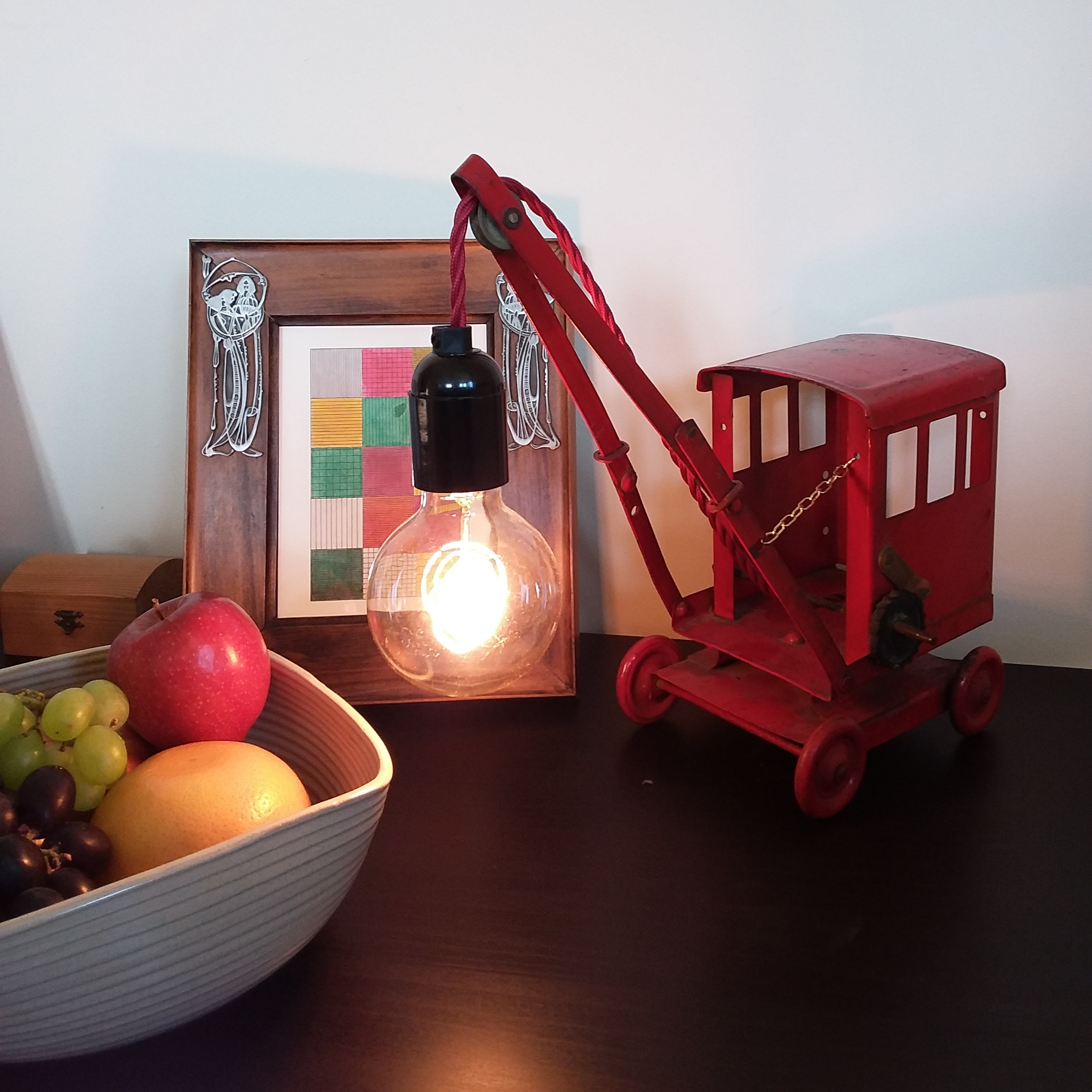 """Loved by... Phil in Morden  """"Love this lamp by Winter Bear Home. A little quirky addition to lighten up my evenings!"""""""