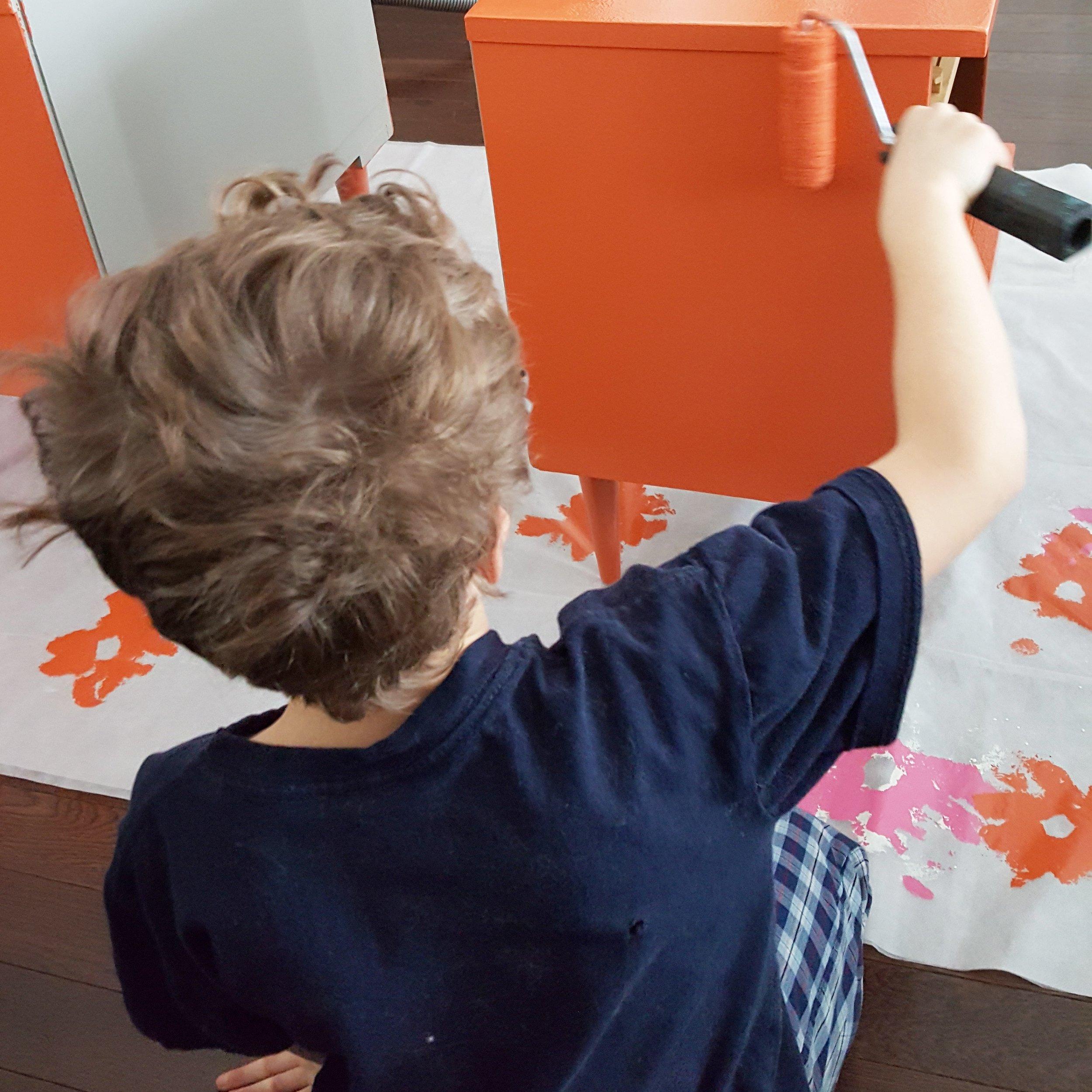 matthew - painting helper