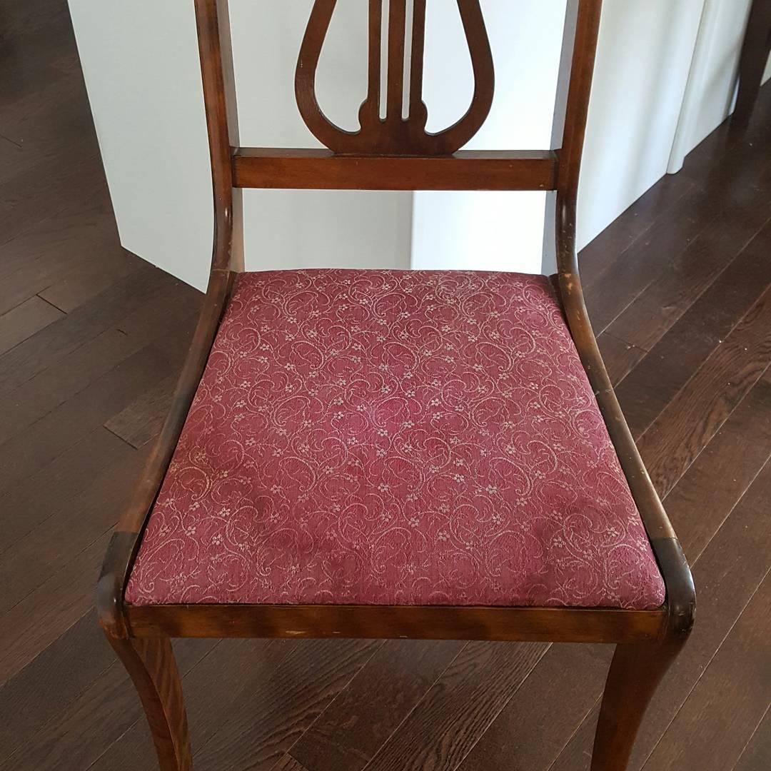 Matthew's Chair - before