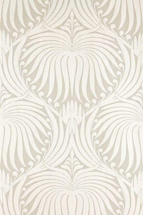 "farrow & Ball ""Lotus"" Wallpaper"