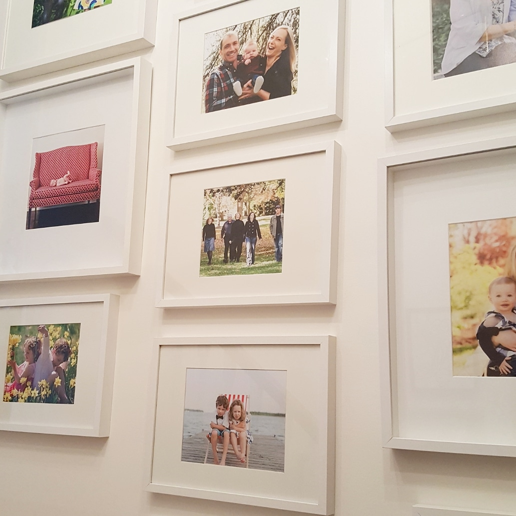 a smaller and refreshed family gallery