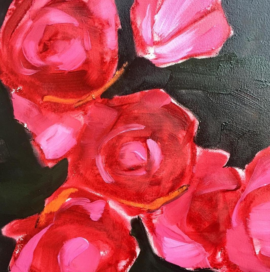 Painting by Lynne Millar