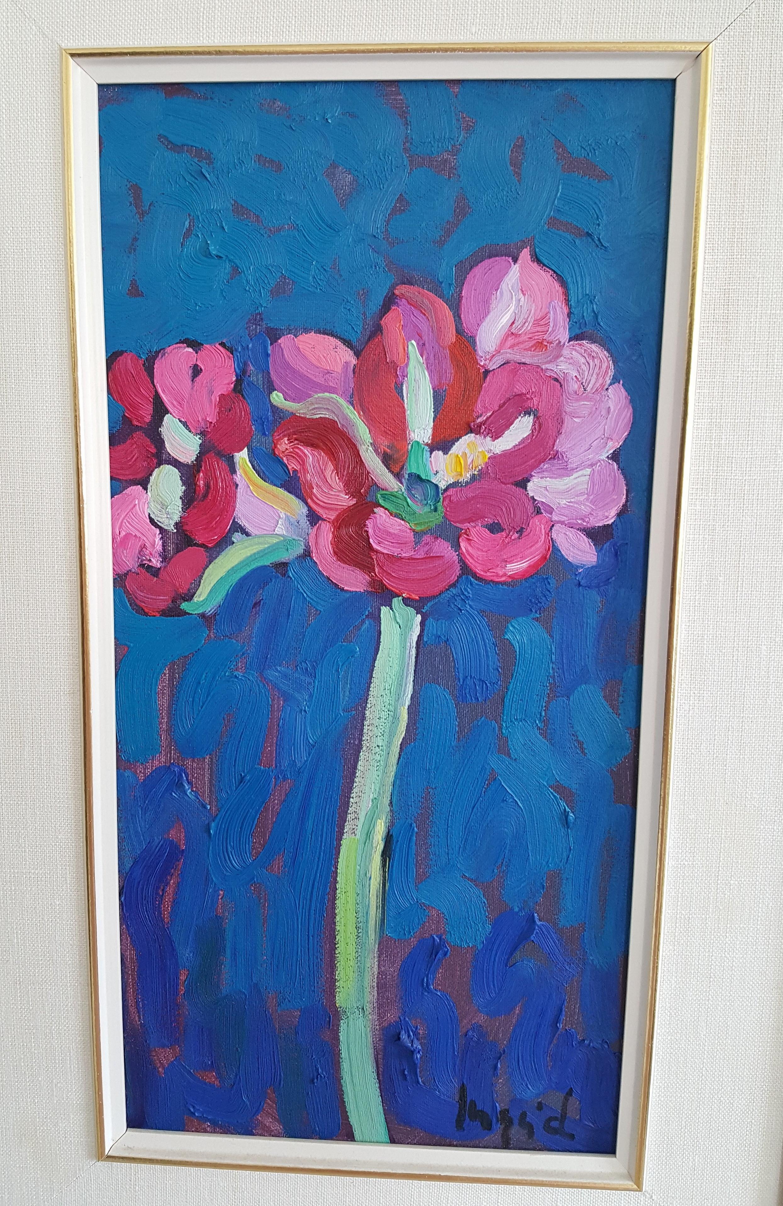 Painting by Orillia artist Ingrid Seyffer