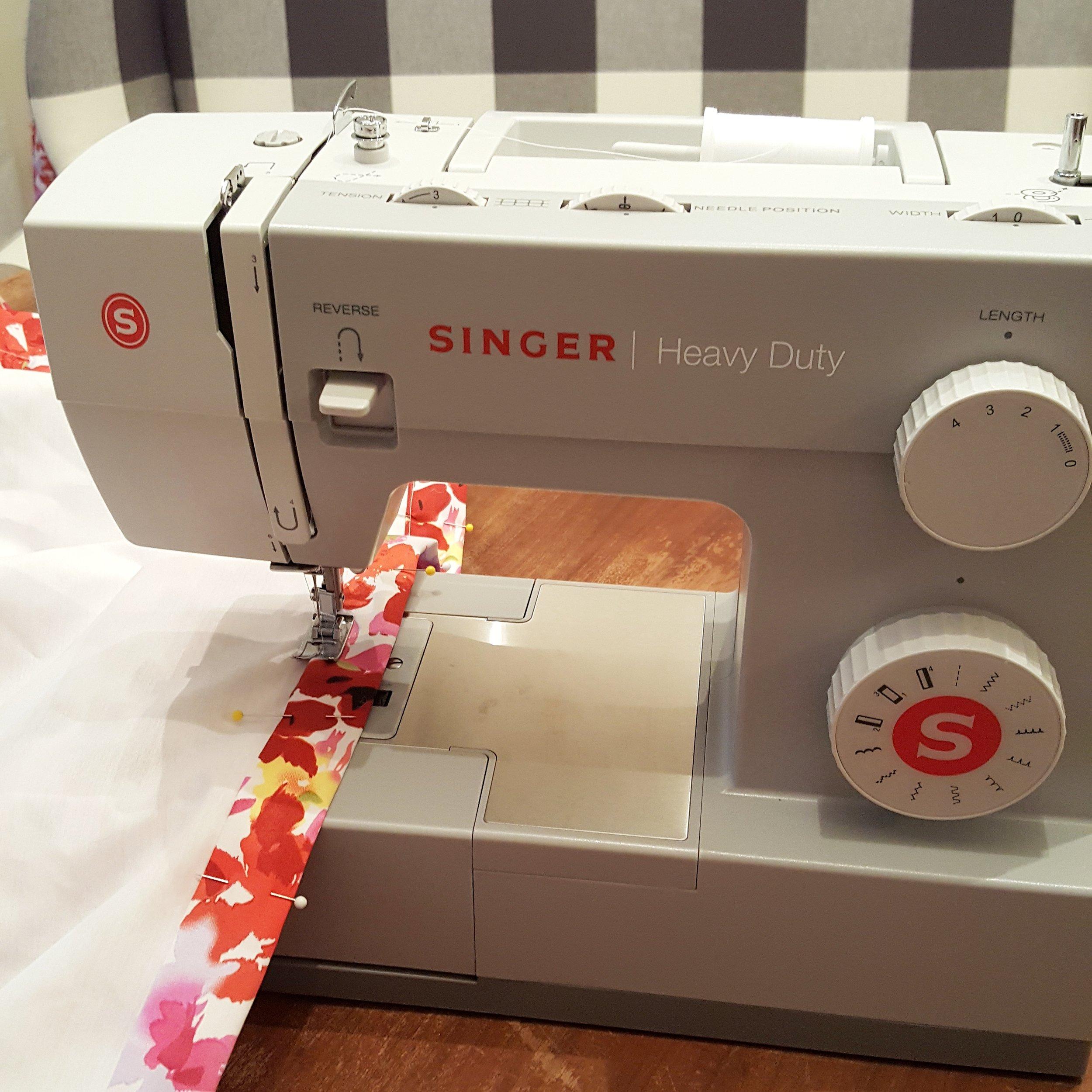 Late night sewing