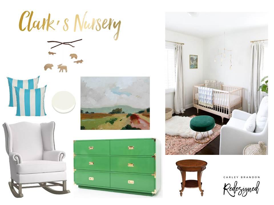 Clark's Nursery - Mood Board