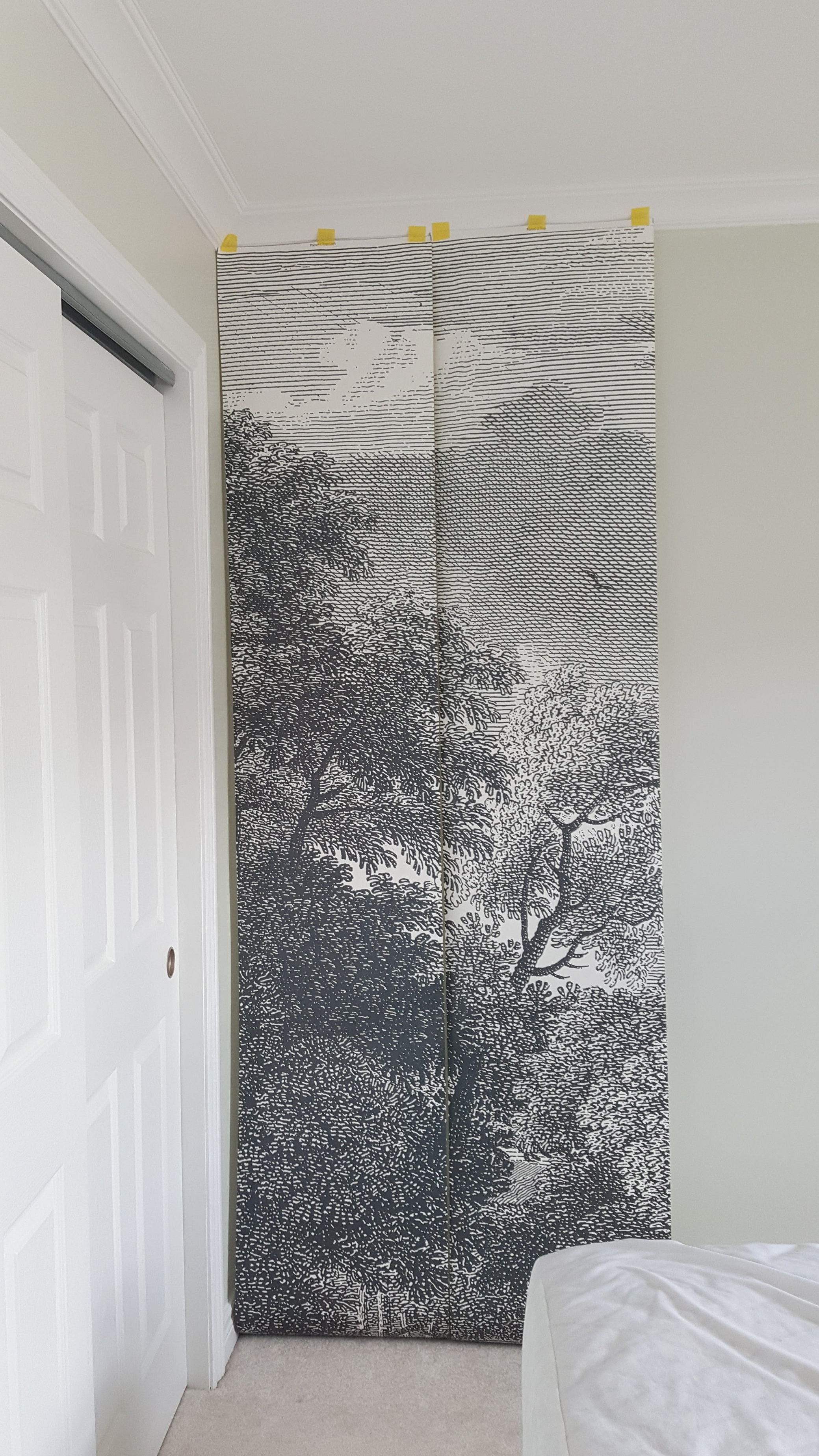 """Anthropologie's  """"Etched Arcadia""""  Mural"""