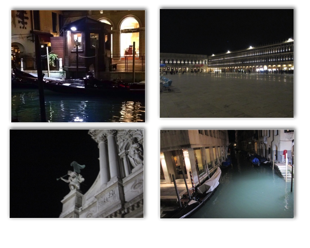 Glowing canals, eerie angels, and a nearly-empty San Marco. This side of Venice is a side not to be missed!