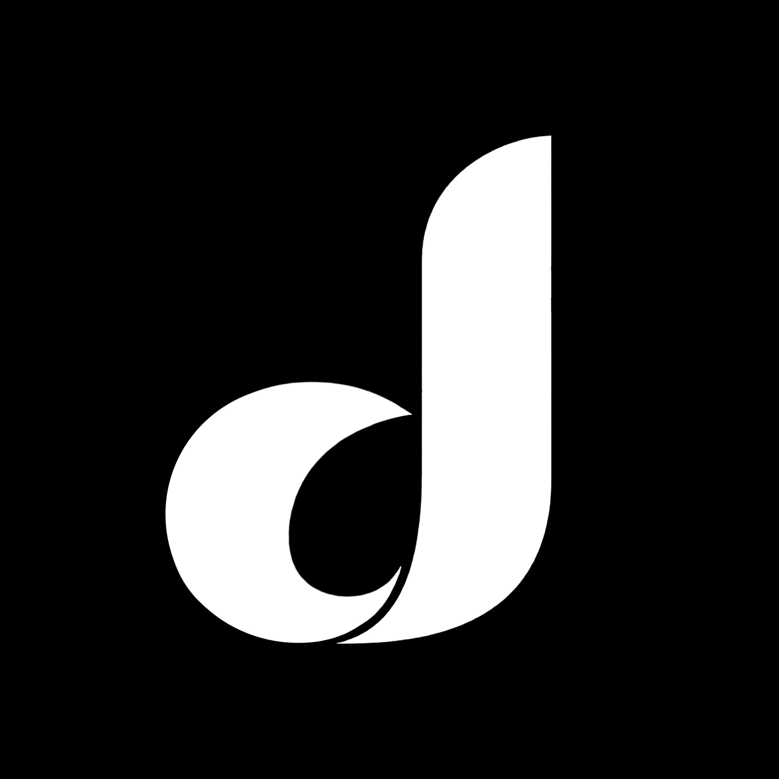 """New Logo (Representing the letter """"d"""" in lowercase.)"""