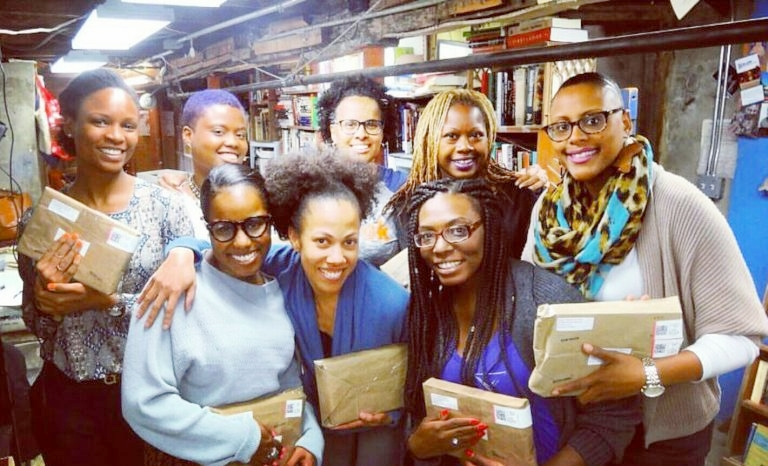 Brooklyn Chapter with Books to Prisons