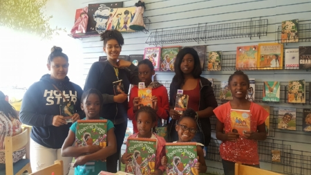 Smoothies & Discussion @ Juice-C-Juice Books & More, Carson chapter Summer Girls Book Club