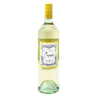 Cupcake Vineyards Pinot Grigio  , $7 - $12  Fresh pear, cantaloupe, apple and pineapple lead to a crisp finish with subtle notes of honey and lemon zest.