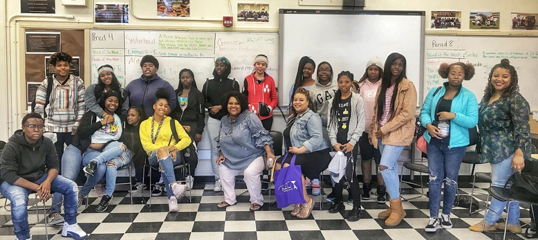 BookTini-Oakland/East Bay with Young Empowered Sistas of McClymond's High School