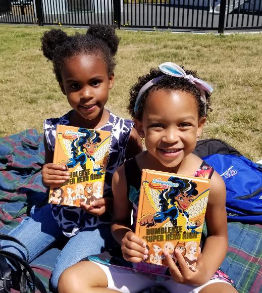 Participants in BookTini-Sacramento's Summer Girls Book Club