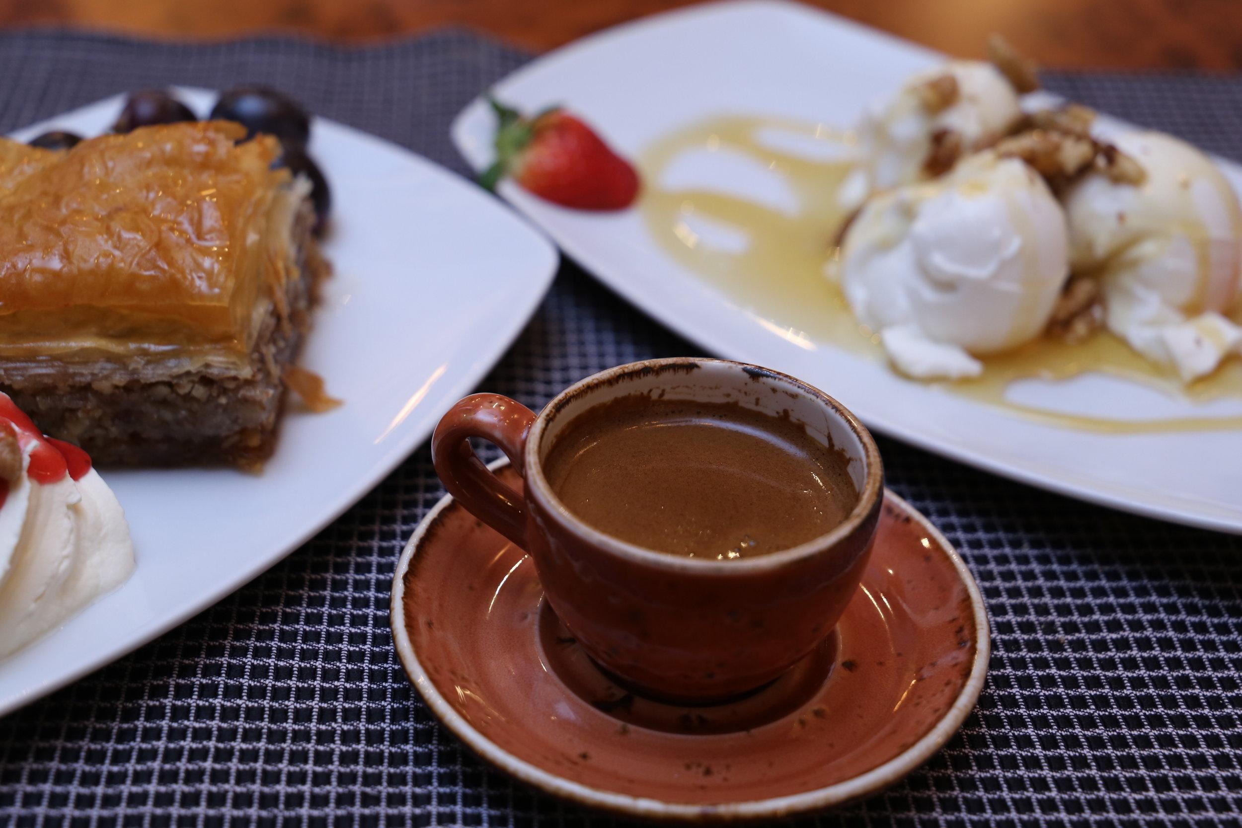 Irodion Restaurant Wien Baklava & Griechisches Kaffee