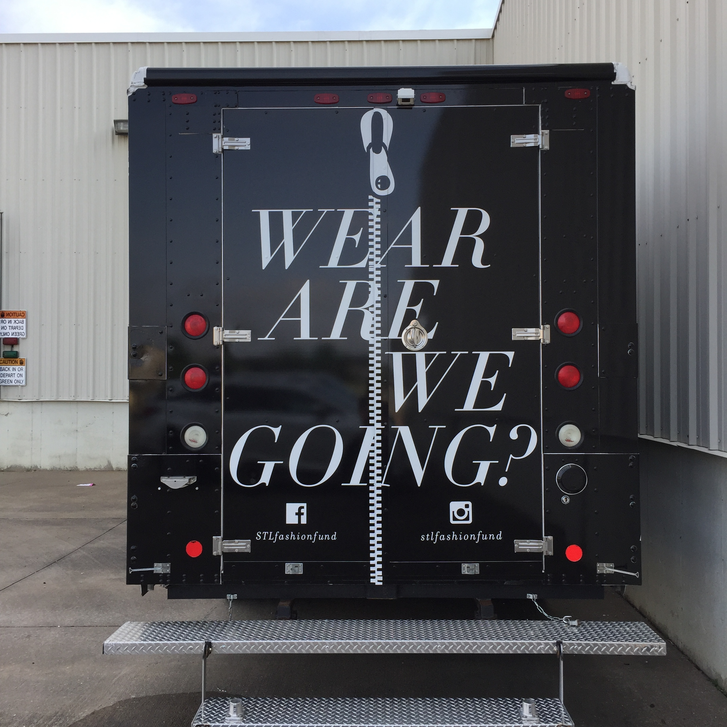 Please visit our events page [hyperlink] for up-to-the-minute information about where you can find the Fashion Truck!