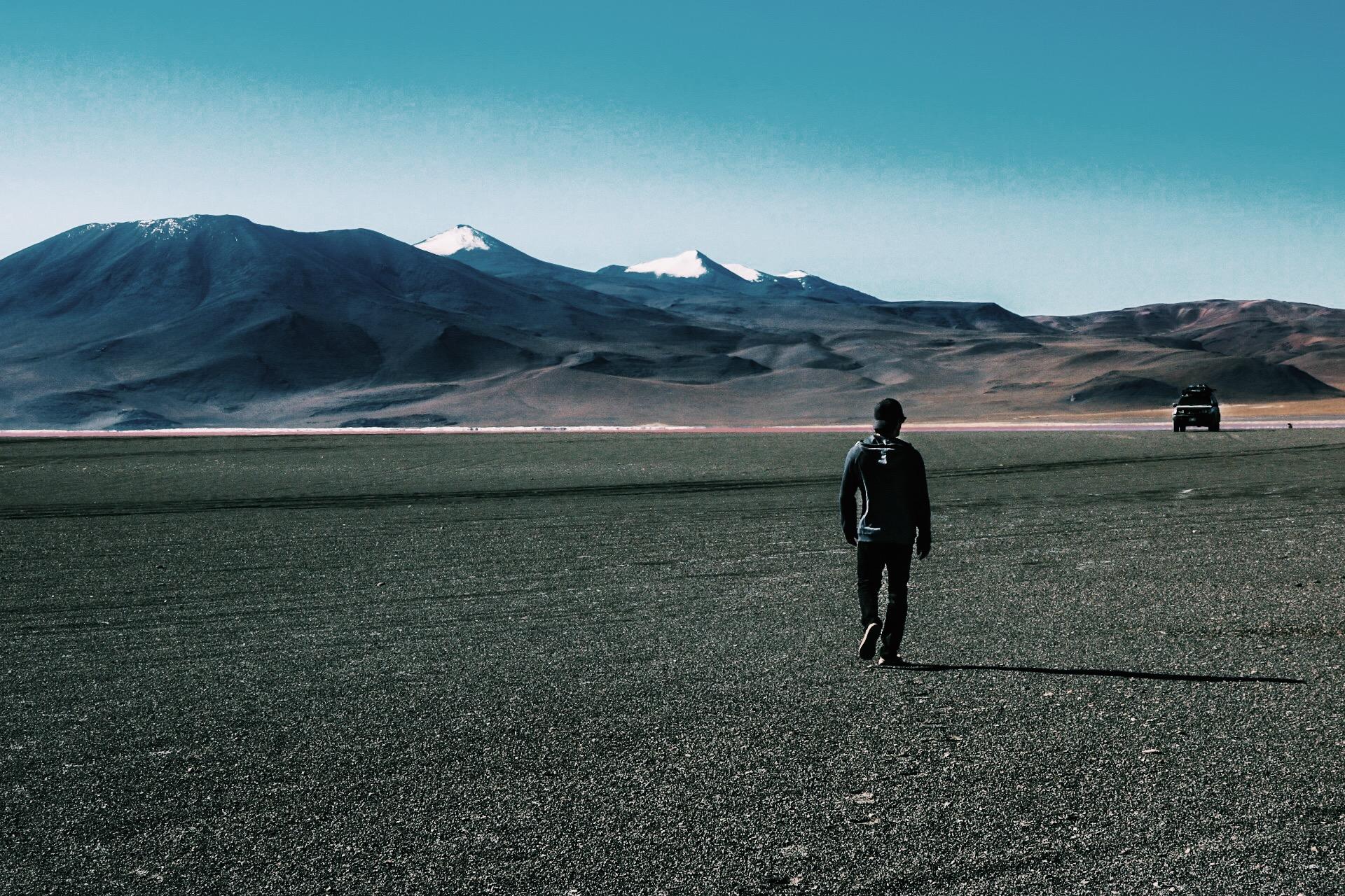 High Altitude exploration in Bolivia.