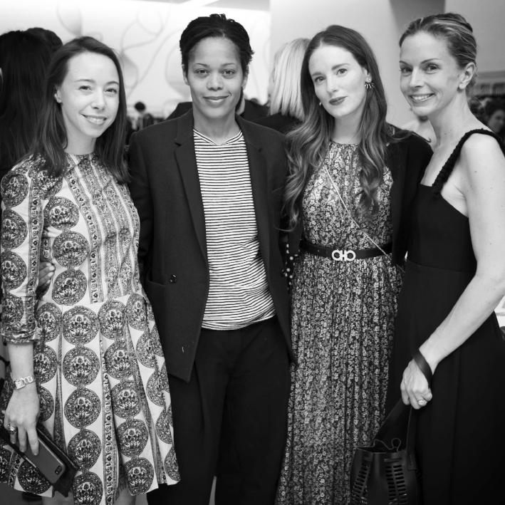 Rickie De Sole Webster, Bonnie Morrison, Bettina Prentice, and Meredith Melling