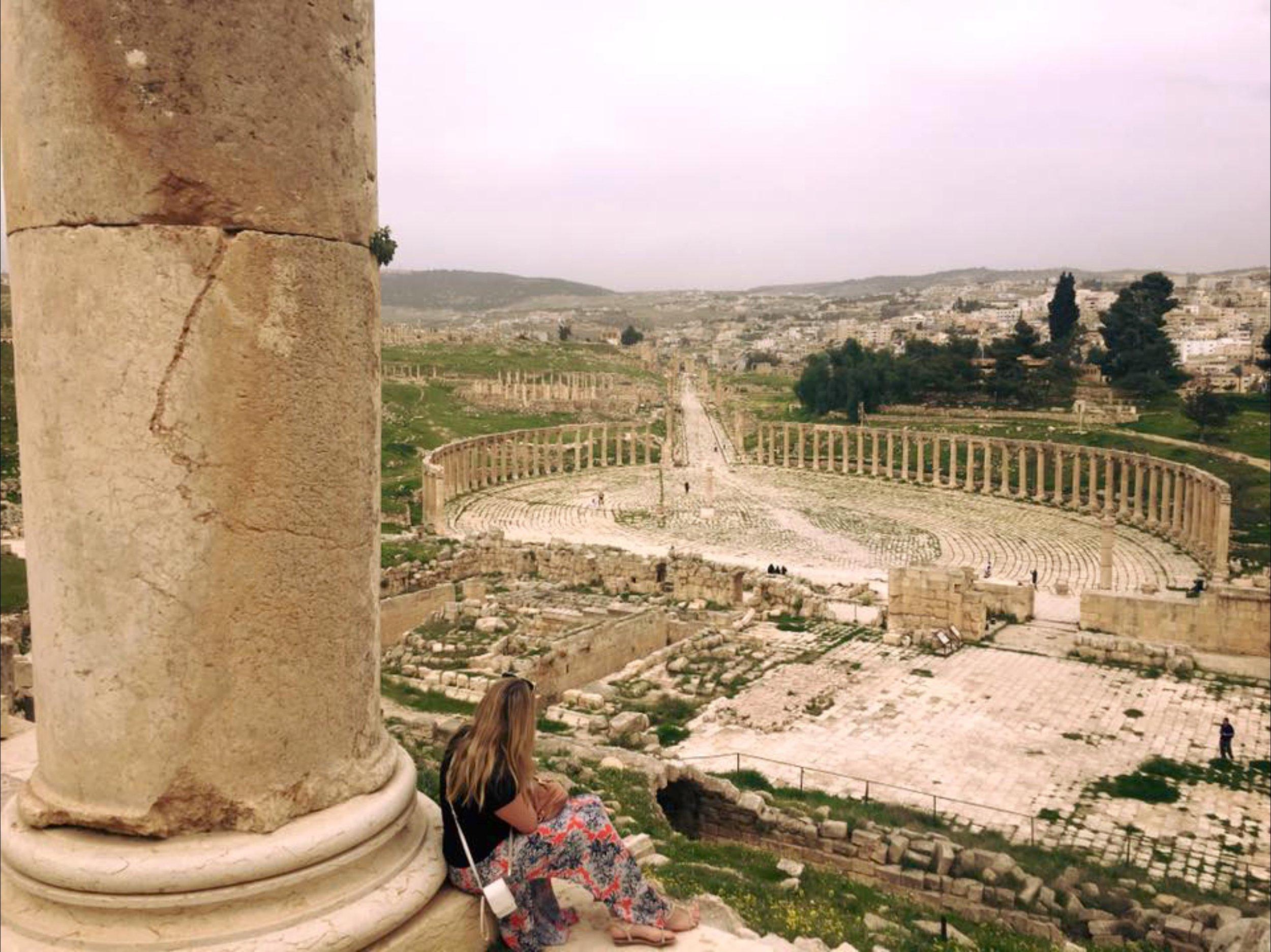 Oval Forum, Jerash