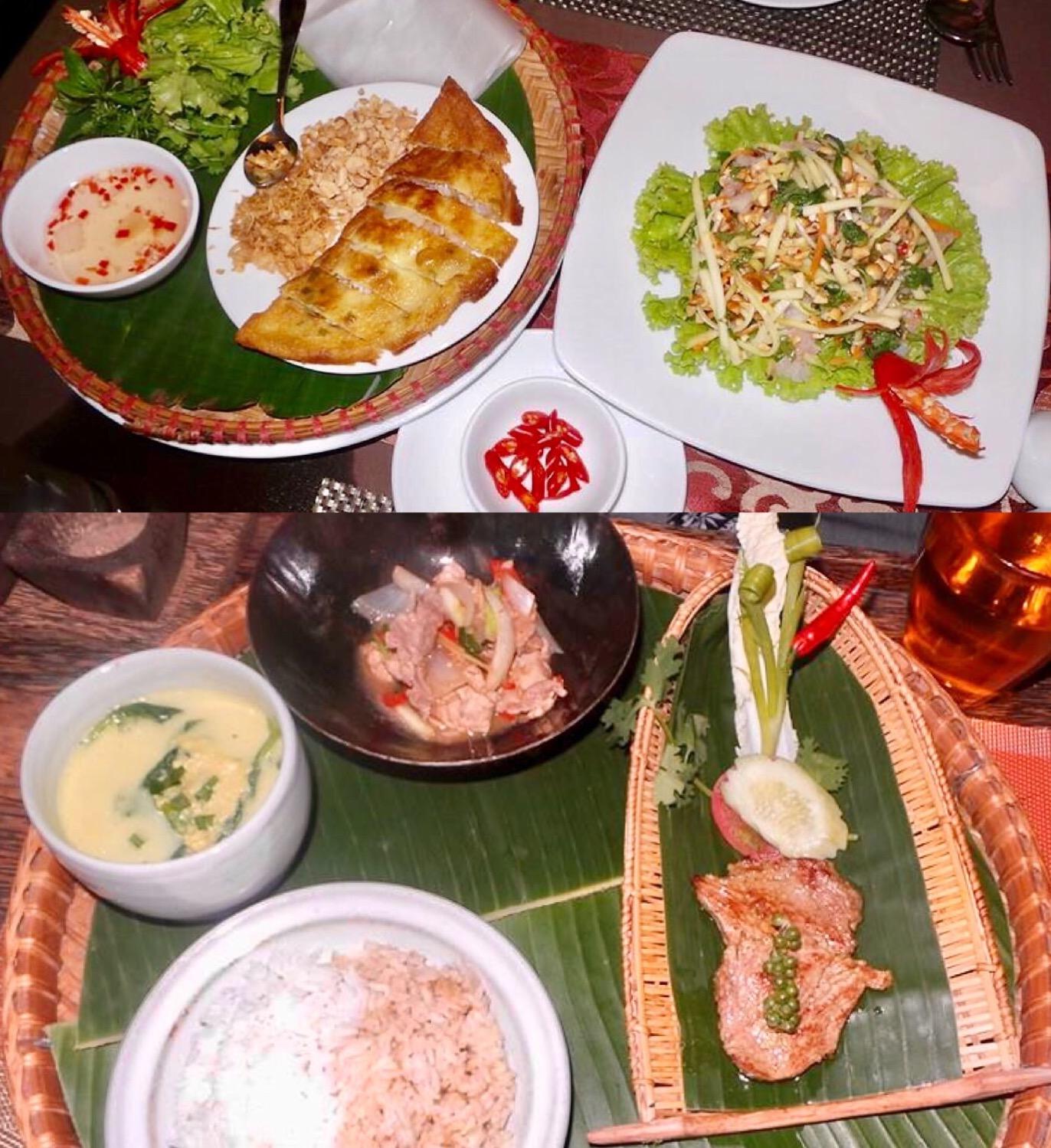Delicious Vietnamese food at Essence, Hanoi