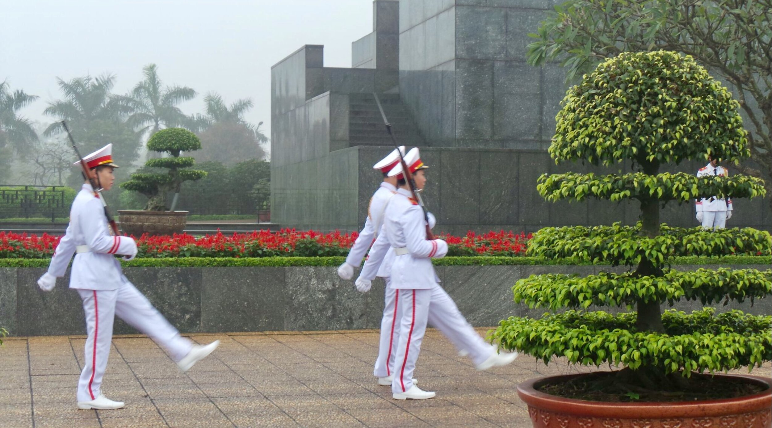Ho Chi Minh Mausoleum Changing of the Guard