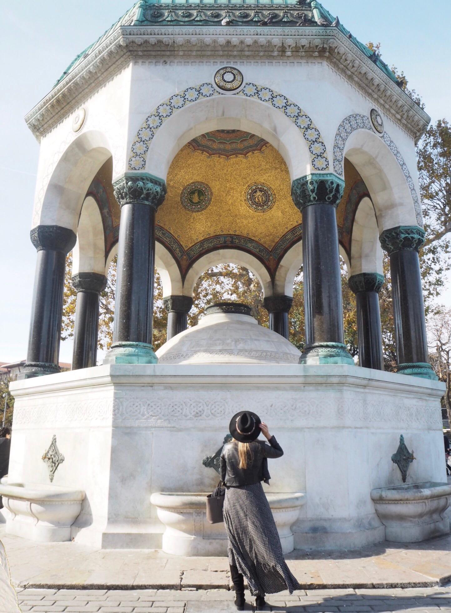 The German Fountain, Sultanamet