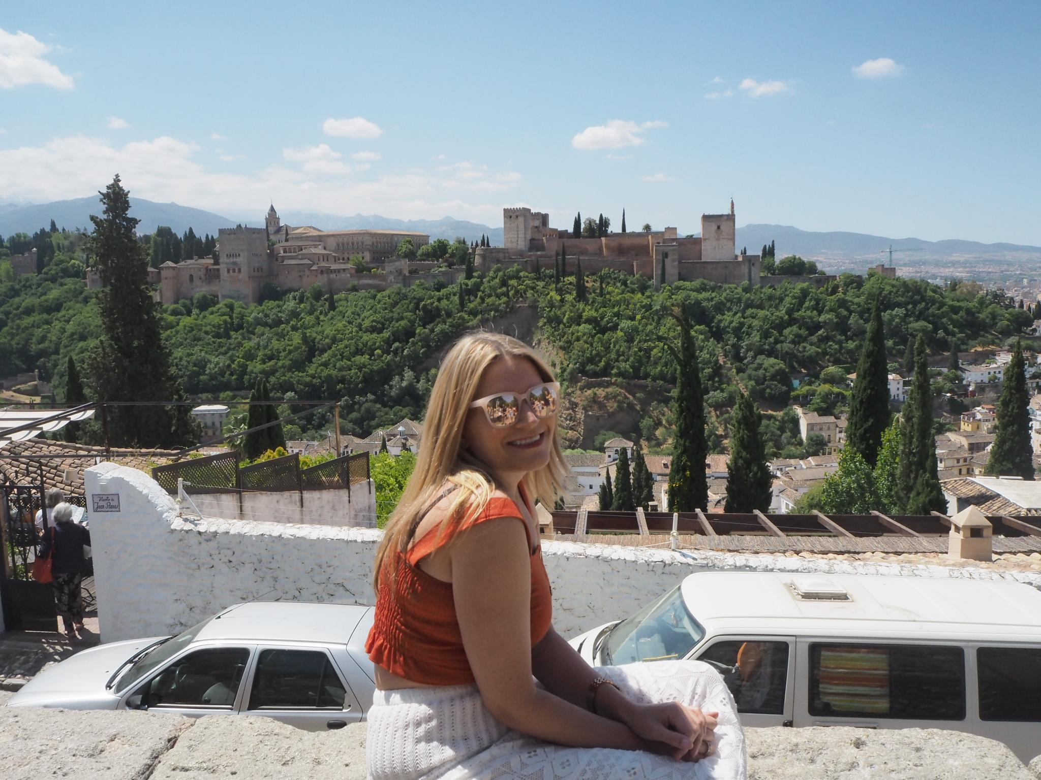 - View from the Plaza San Nicolas, Albaicin