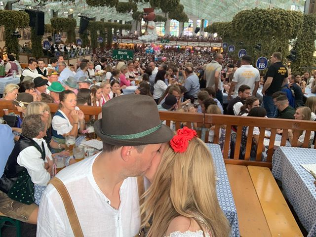 Oktoberfest 2019! Prost! ���� �This year we got a table on the balcony at the largest tent Hofbrau Festzelt when at capacity holds 9,992 people. It definitely lived up to its party tent reputation!  #hofbraufestzelt #hofbräufestzelt #oktoberfest #oktoberfest2019 #weisn2019 #weisn #hofbraufestzeltpartytent #munich #meadowoftherese #theresienwiese #tripstagram #girlsthatwander #thetravelwomen #travelhackers #globelletravels #ladiesgoneglobal #iammissadventure #girlaroundworld #traveldreamseekers #darlingescapes #femmetravel #iamtb #doyoutravel #traveladdict #travelinaangelina #bohohipgypsies #travelblogger #dreamless_travelmore #roamingwomen #munchen