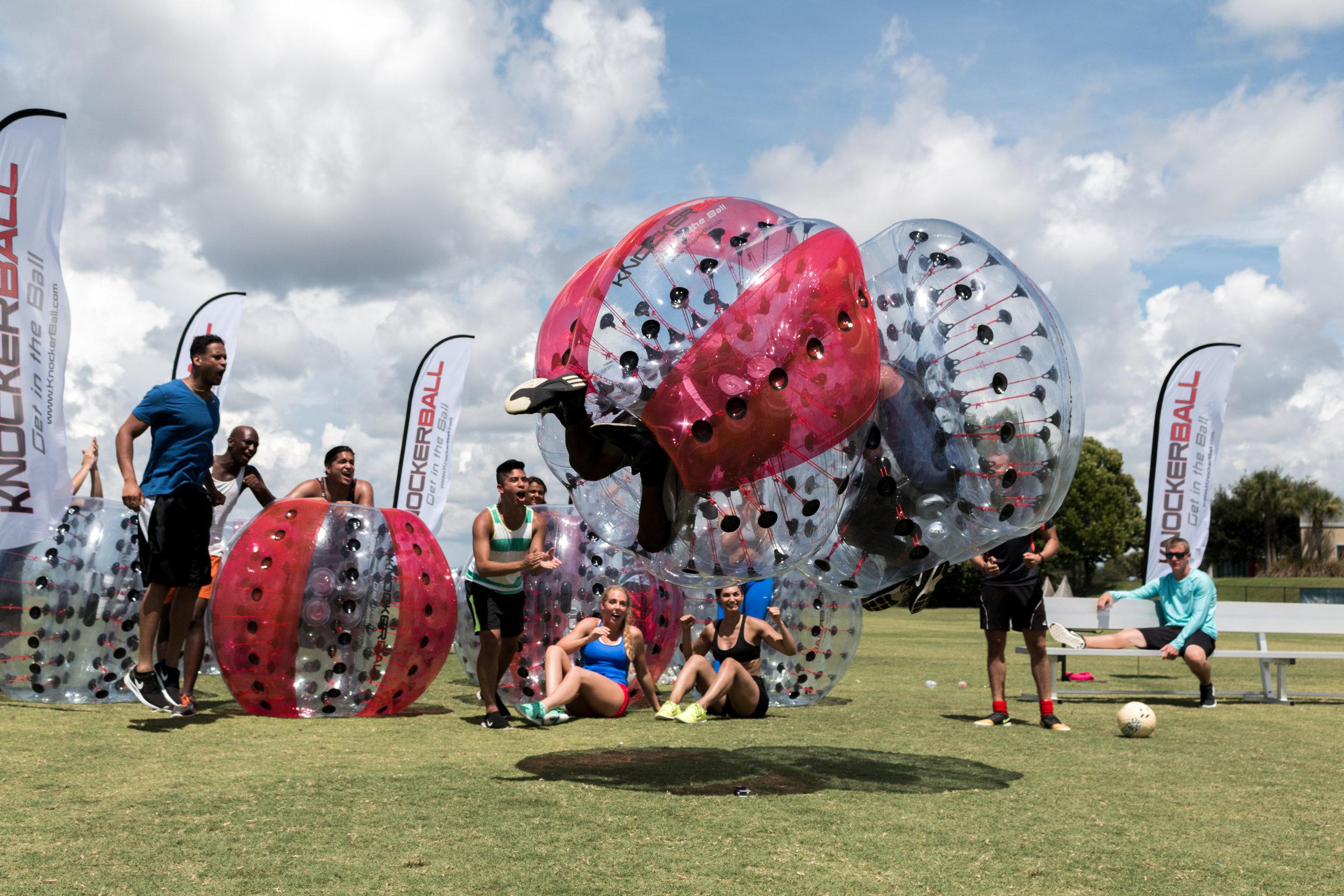 DFW Knockerball Bubble Soccer