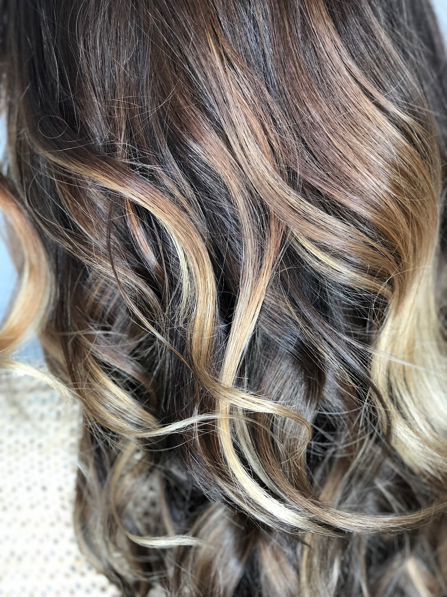 We love enhancing the health and beauty of our guest's hair!