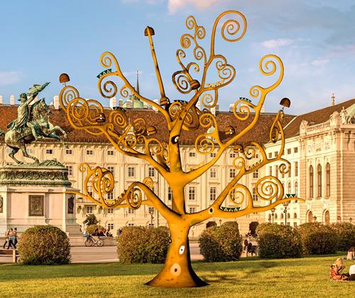 Gustav Klimt Art AR Project