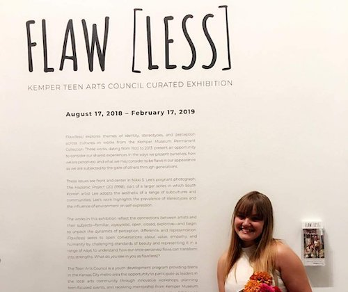 The Flaw(less) exhibit at the Kemper Museum
