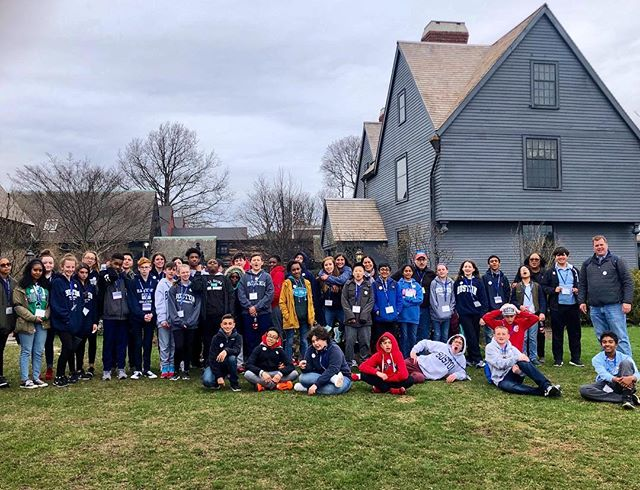Final stop - Hawthorn's House of Seven Gables - now back to Long Island! 🌉 🚌 #BridgesToBoston2019