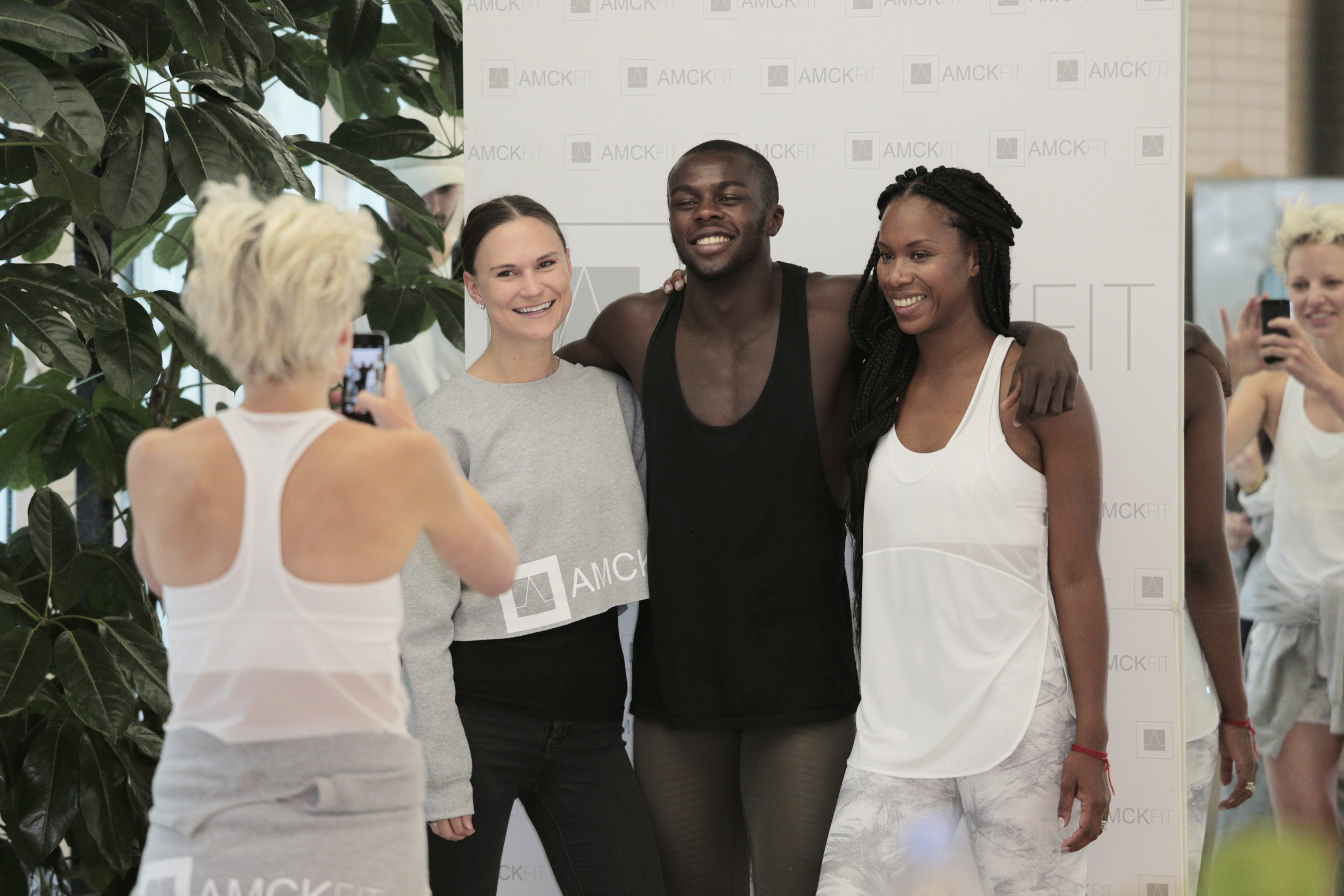Aicha McKenzie, CEO & Director,  AMCK  (Right)  -  Kathryn Snook, Head Booker,  AMCK Dance  (left) & AMCK Talent - Shay Barclay & Ida May,  AMCK FIT