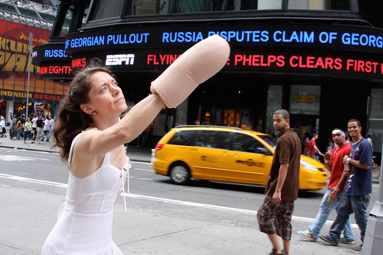 Judging advertising  Photography: Ji Lee. 2008
