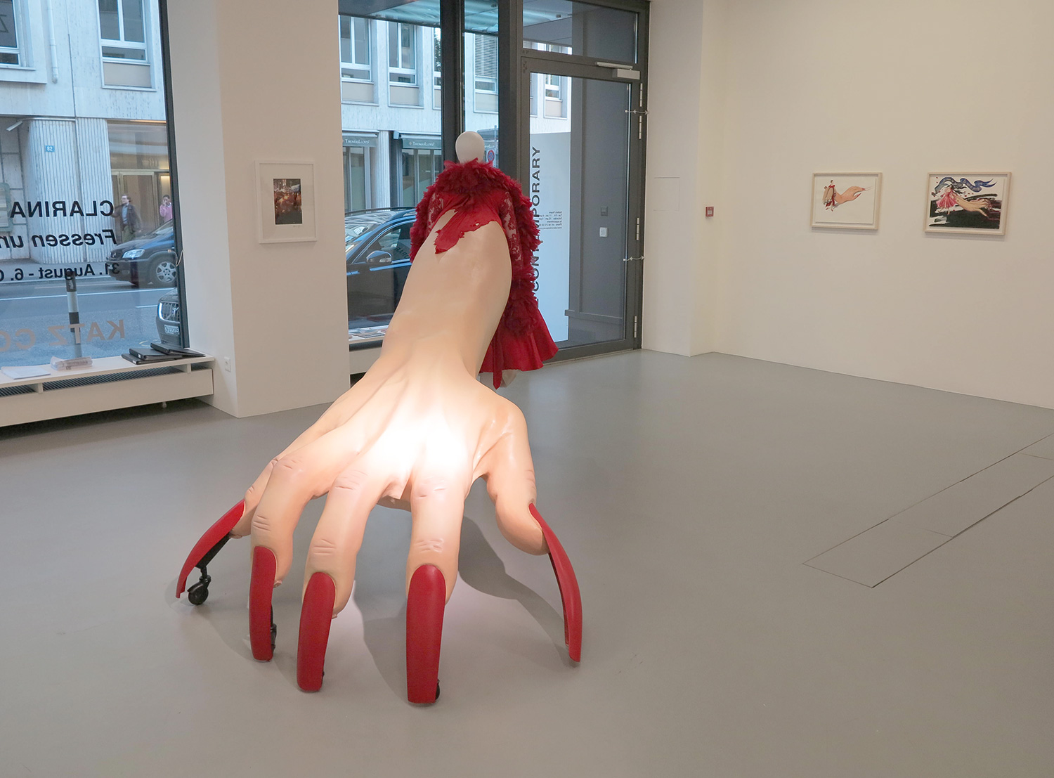 THE MUSE DISPLAYED AT KATZ CONTEMPORARY GALLERY IN ZURICH