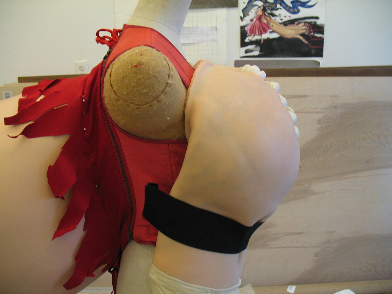 Making chest piece