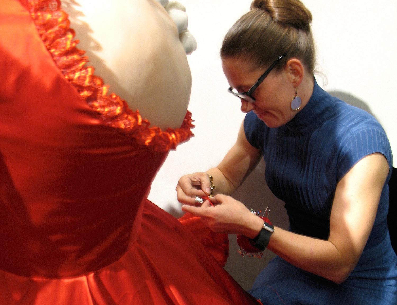 Finishing dress