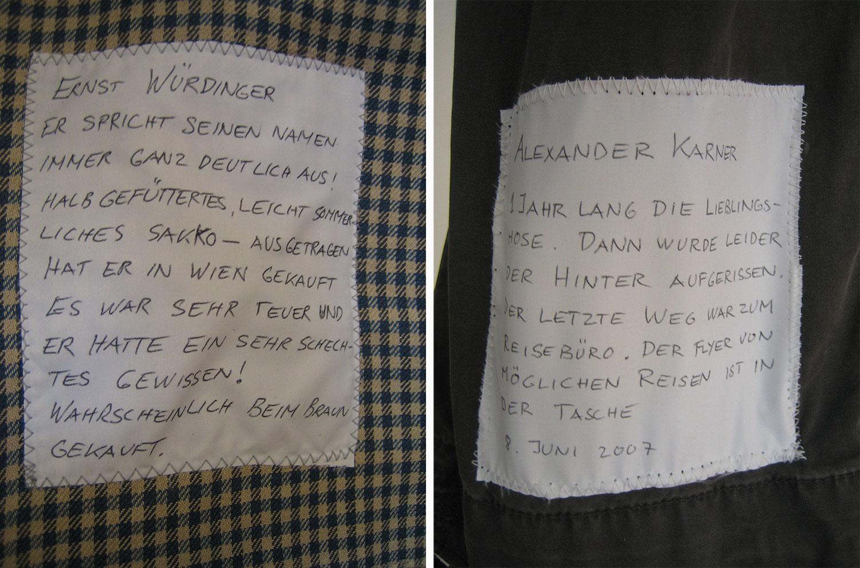 Ernst Würdinger und Alexander Karner