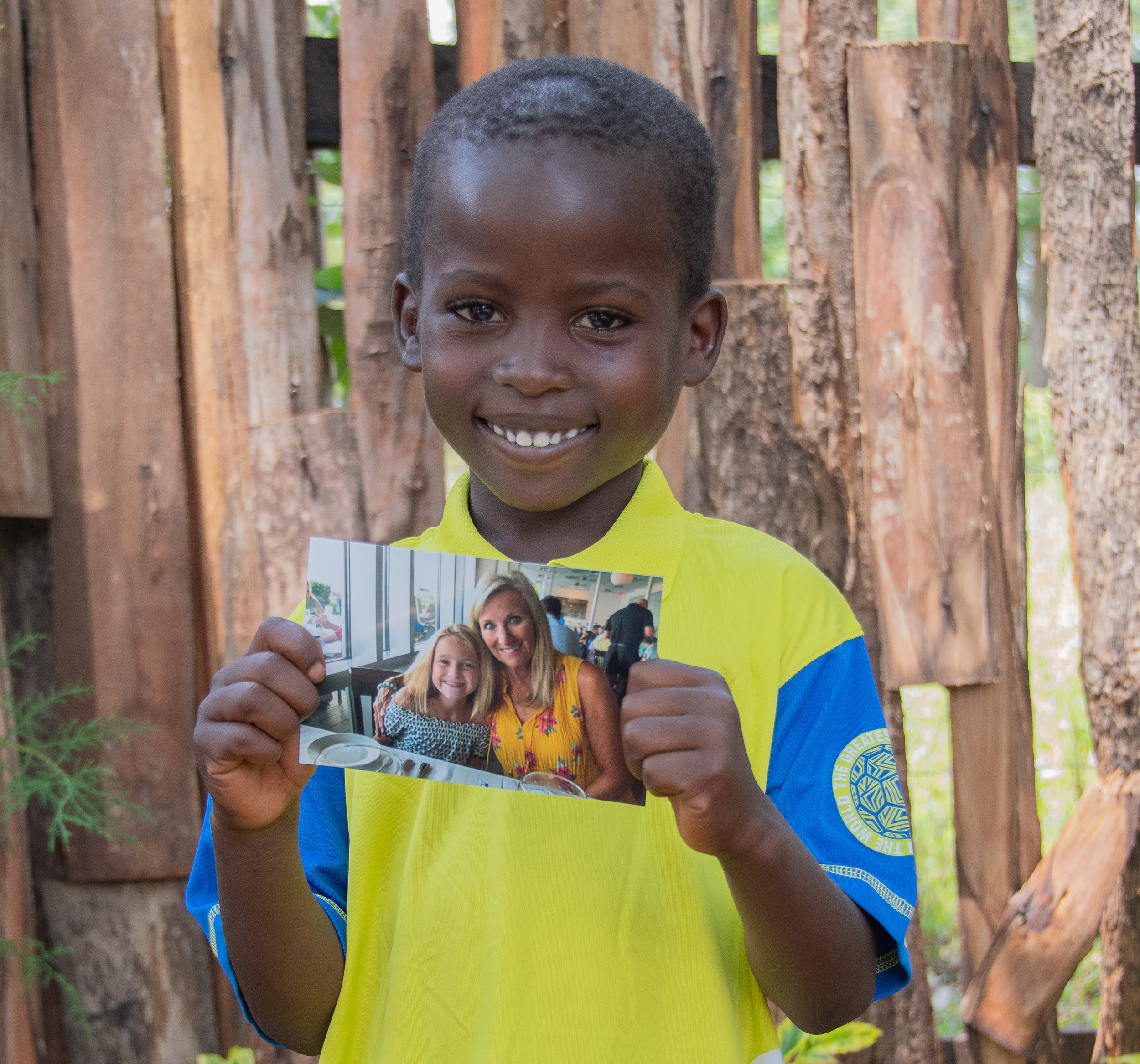 "Sponsorship Testimonial - ""From the moment I first saw a picture of Joshua, I knew he had to be ours. The beaming smile on this special little boy's face gave me and instant feeling of joy and hope. The children at Zoe have been through so much in their short lives. Being a part of Joshua's new life at Zoe through the sponsorship program has given our family a unique way to share God's love."