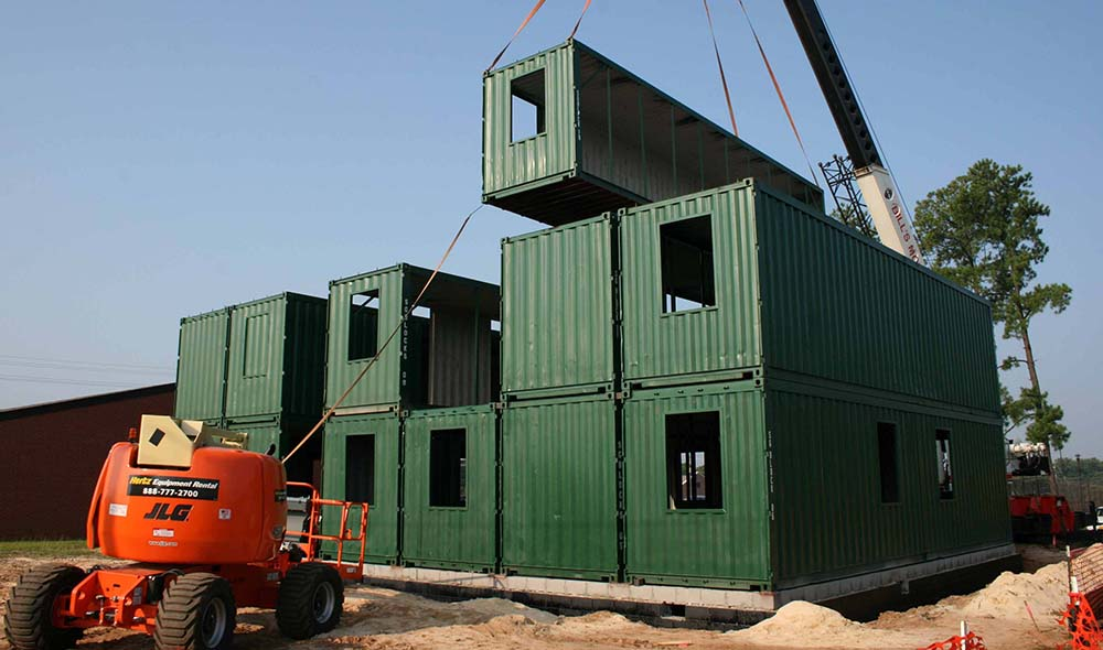 Installation of a project in Fort Bragg