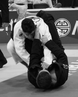 Adult BrazilianJiu-Jitsu - Brazilian Jiu-Jitsu is one of the most potent fighting systems on the planet. Developed by the Gracie family into Gracie Jiu-Jitsu and then modified through years of competition, Brazilian Jiu-Jitsu (BJJ) is considered a necessity. It is a ground fighting martial art based on the simple premise that 95% of street fights end up on the ground. BJJ is a grappling-based martial art, utilizing controlling positions, joint locks, and chokes.