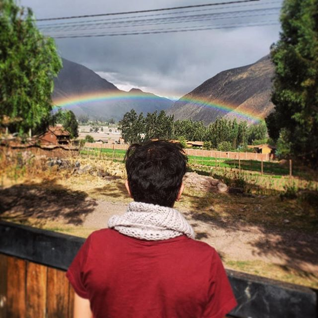 Somewhere over the rainbow... #🌈 #Peru #somewhereovertherainbow