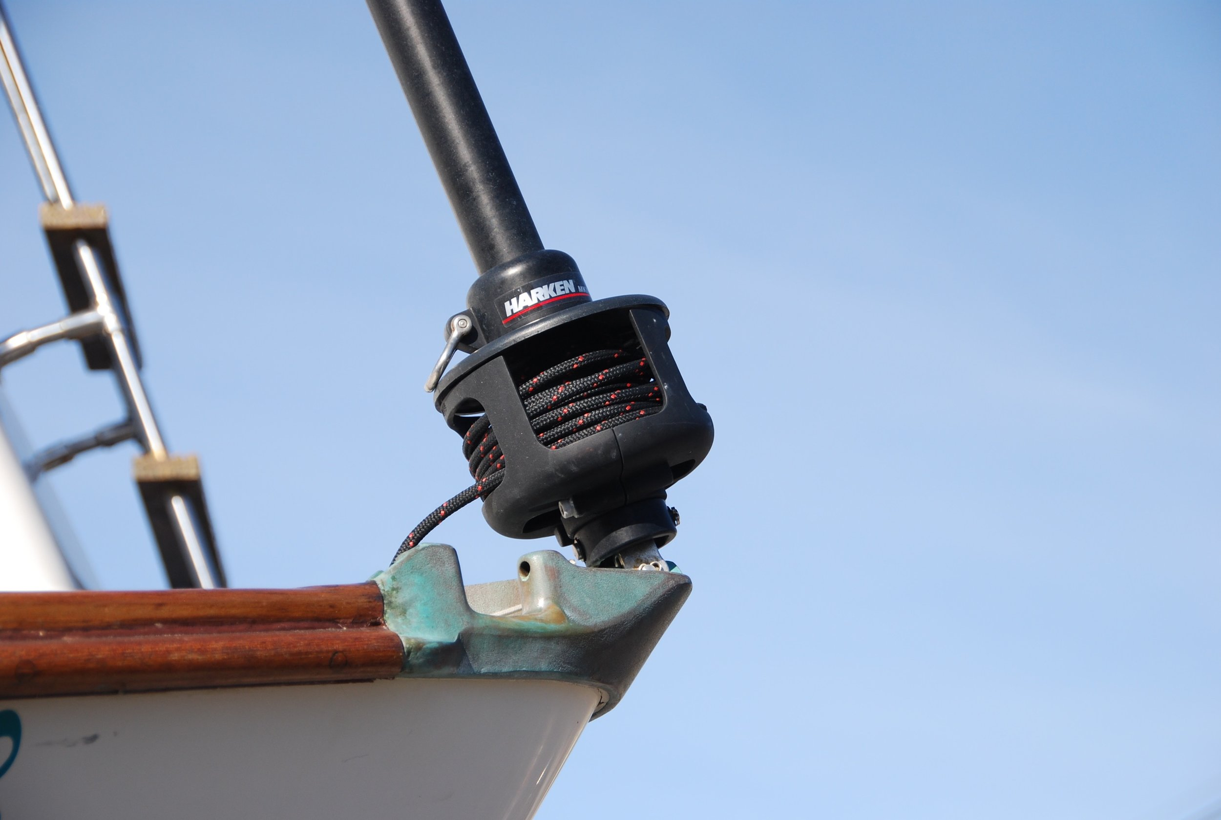 New Harken roller furling