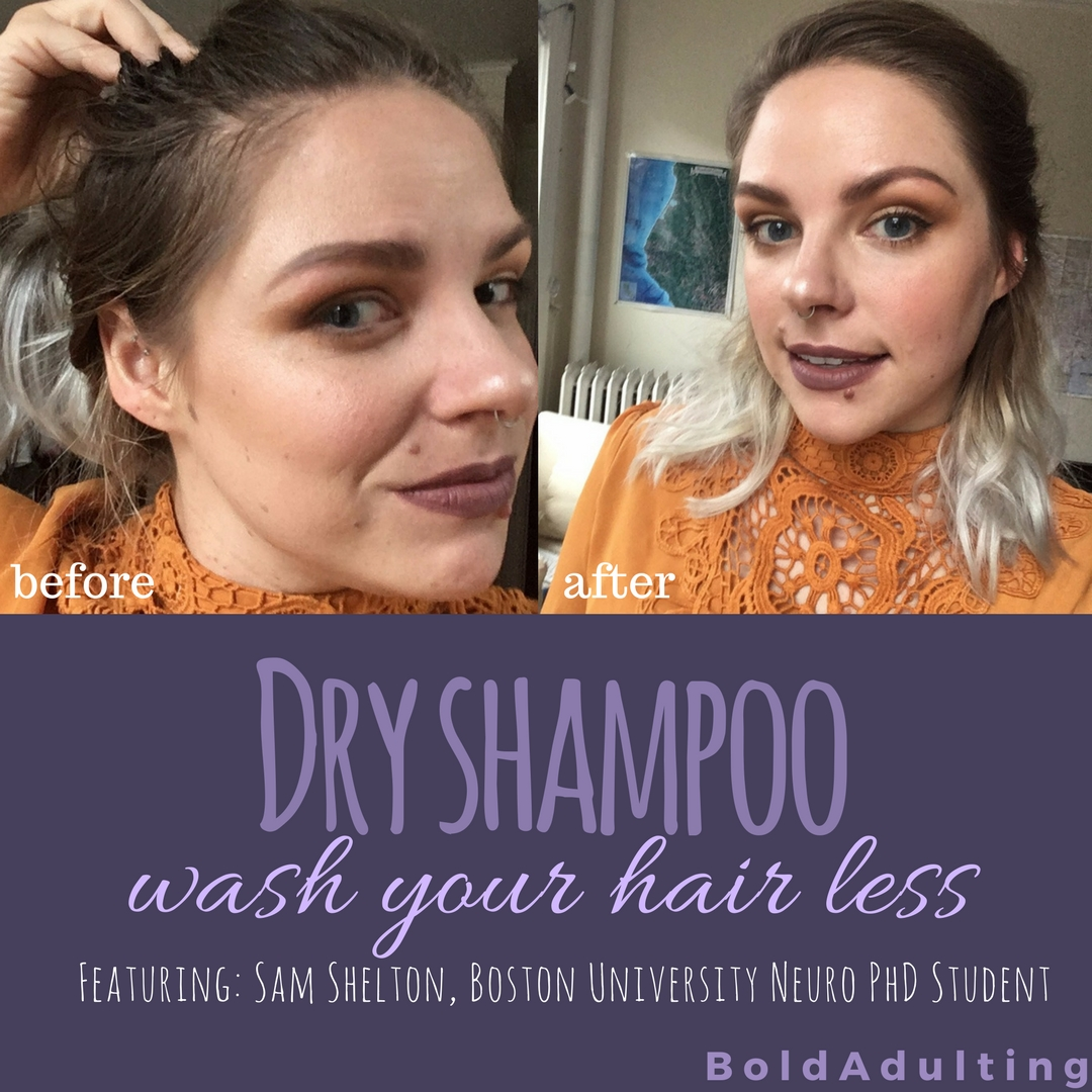 For all those mornings when you just need that extra 10 minutes of sleep, you gotta try  dry shampoo ..