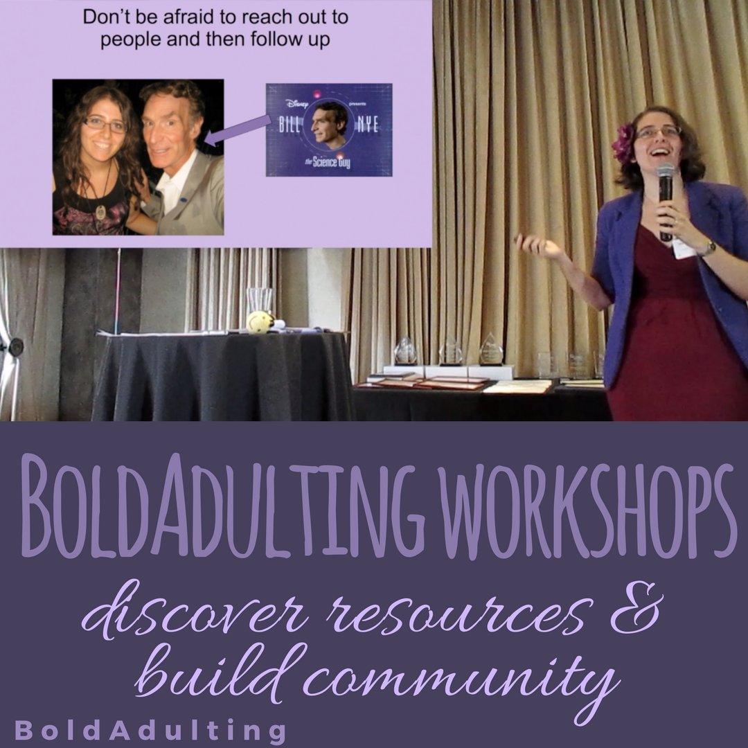 If your organization needs some help starting conversations about confidence and life skills, BoldAdulting workshops are a great way to get started!