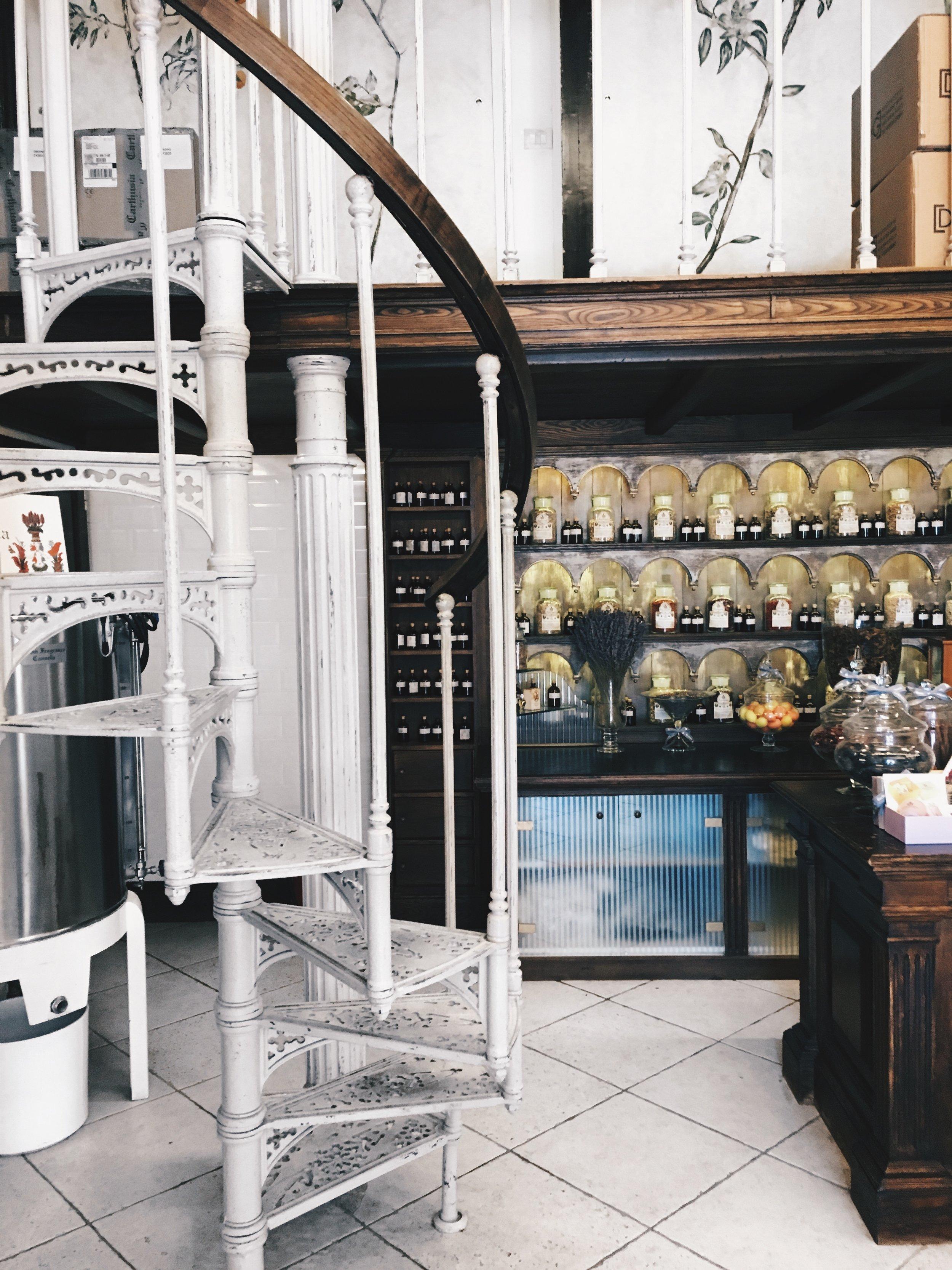 Perfumarie in Capri